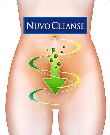 NuvoCleanse pour détoxification complète du corps et nettoyage du côlon.